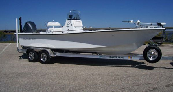 24 foot Blazer Bay Coastal Boats